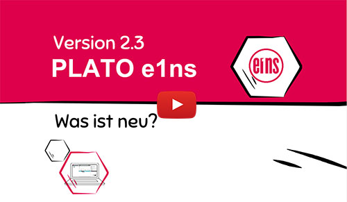 Neue Version der Engineering Software: PLATO e1ns 2.3