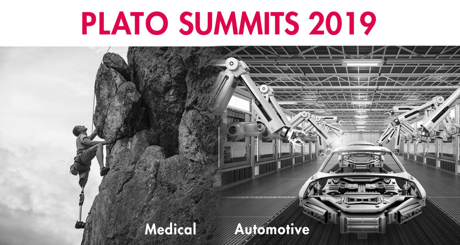 PLATO Summits 2019 - Automotive & Medical