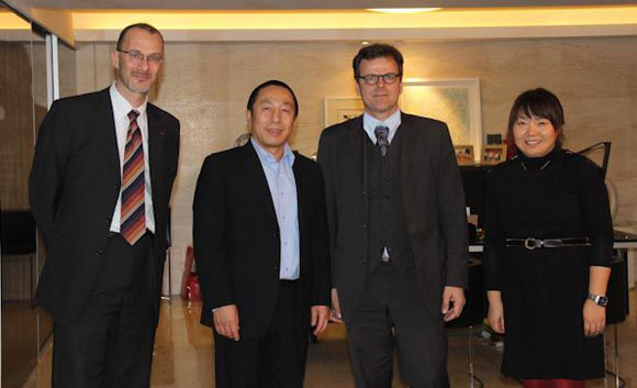 Premiumpartnerschaft in China mit HSY